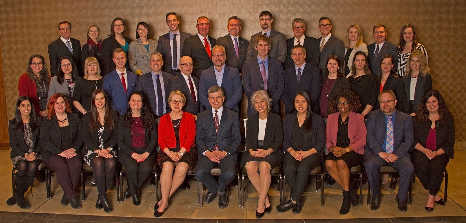 2019 Law Society of Saskatchewan Staff and benchers